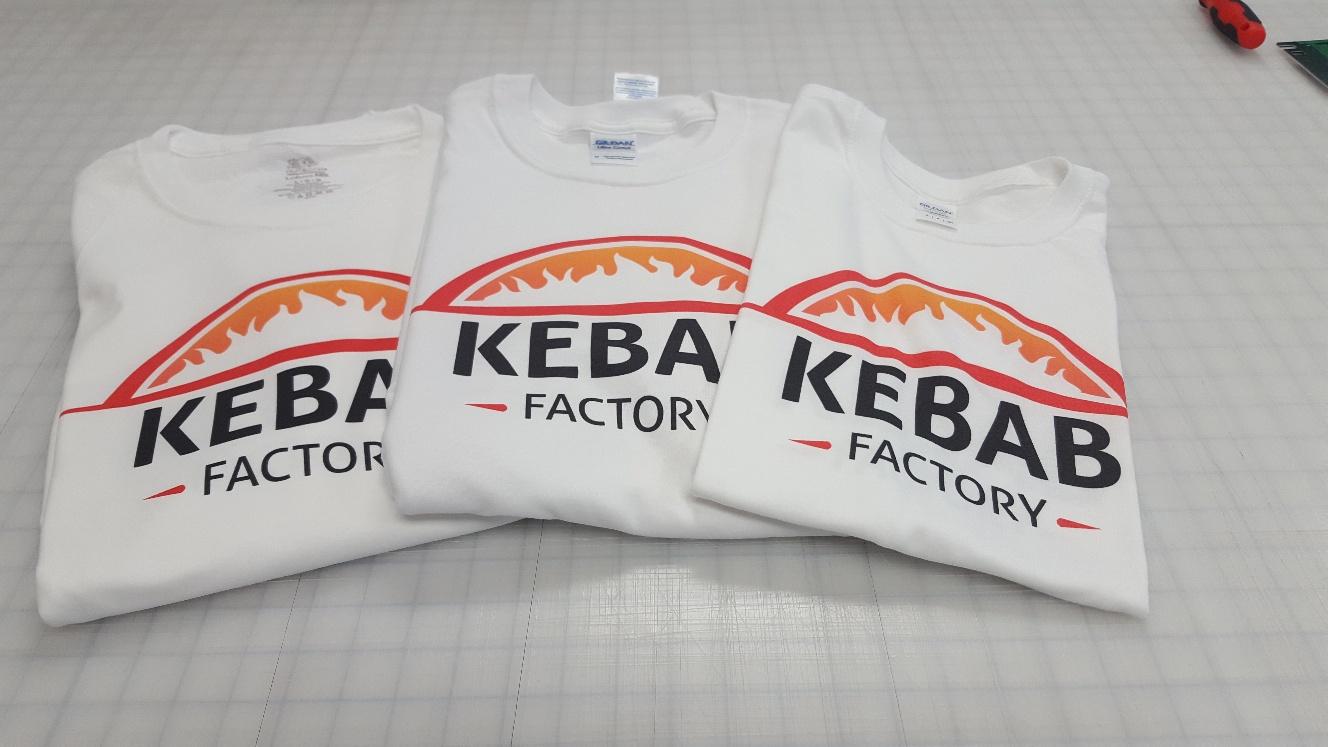 Custom tee kebab factory