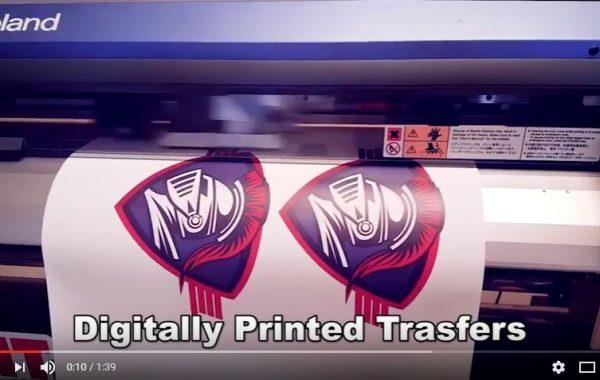 Digitally Printed Transfers