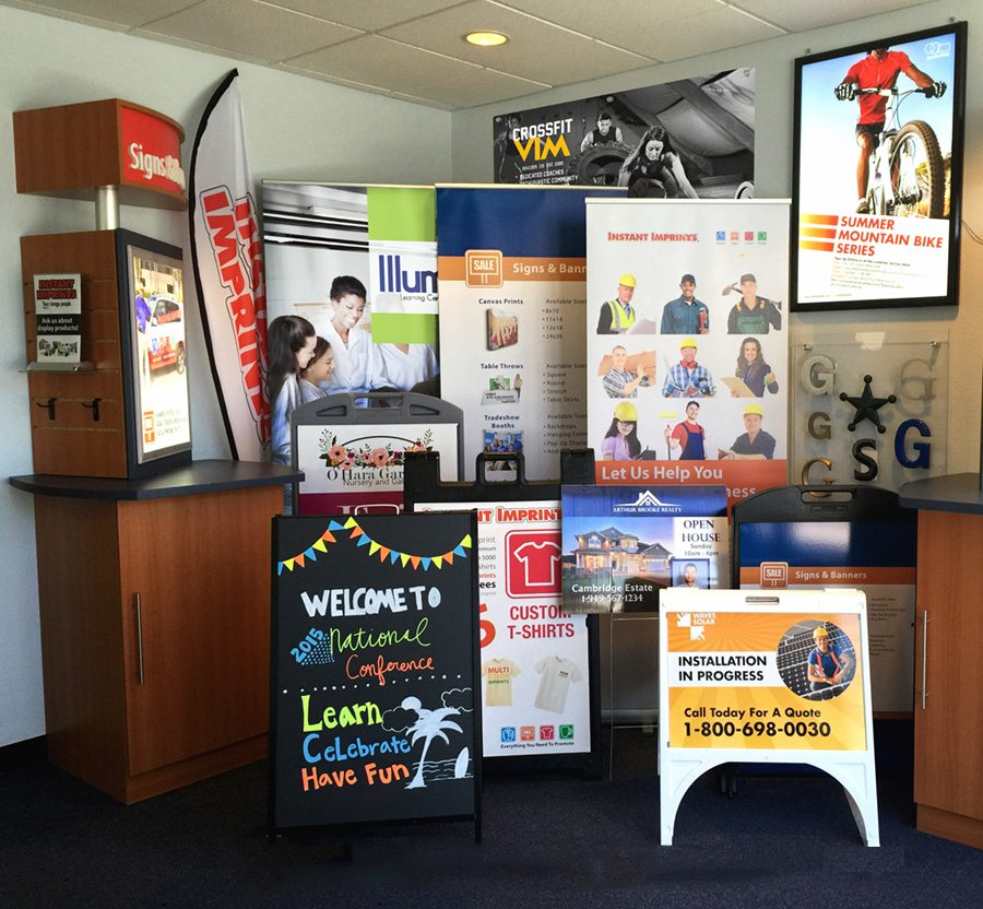 Custom Printed Banners and Signs | Trade Show Displays