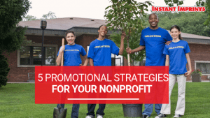 Promotional Strategies for NonProfits Infographic
