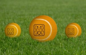 Free-Tennis-Ball-Logo-Branding-Mockup